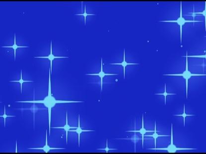 LARGE BLUE CHRISTMAS STARS