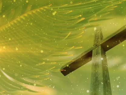 PALM SUNDAY CROSS BACKGROUND