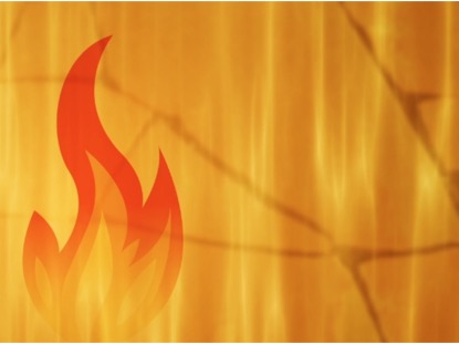 PENTECOST FIRE FLAME