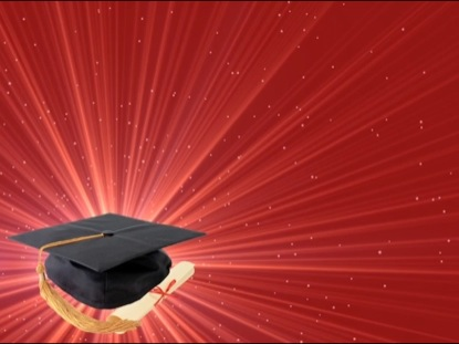 RED GRADUATION MOTION BACKGROUND