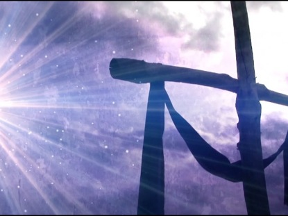 Seamless Easter Cross Background | Videos2Worship ... Religious Cross Backgrounds