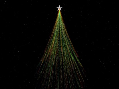 STAR DUST CHRISTMAS TREE