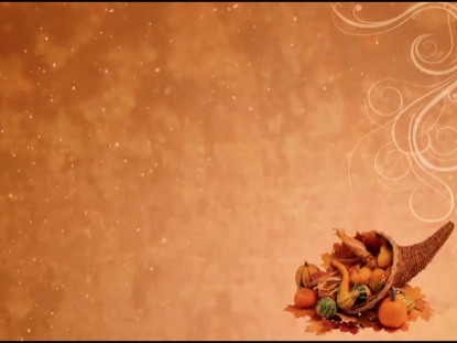 THANKSGIVING MOTION BACKGROUND