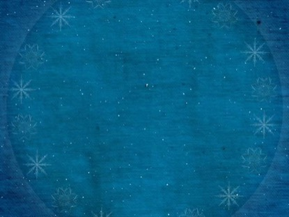 WINTER HOLIDAYS BLUE BACKGROUND