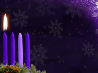 ADVENT CANDLE MOTION WEEK 1