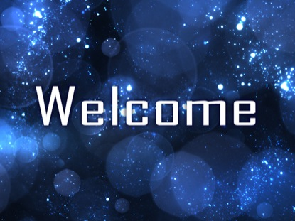 BOKEH STARS WELCOME MOTION 1
