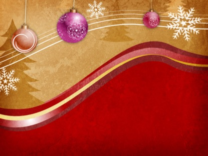 CHRISTMAS ORNAMENTS AND SNOWFLAKES MOTION 1