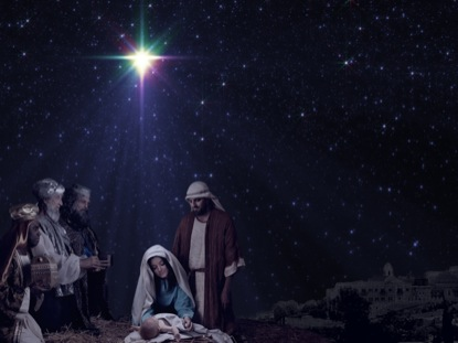 CHRISTMAS STAR MAGI NATIVITY MOTION 1