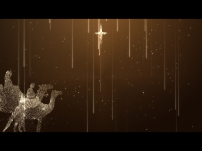 CHRISTMAS STARFALL WISE MEN