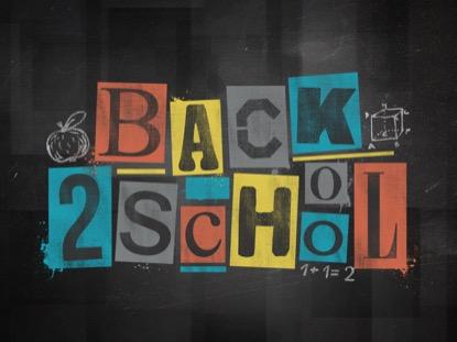 CHALK BLOCKS BACK 2 SCHOOL