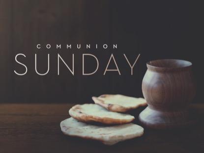 COMMUNION SUNDAY TITLE