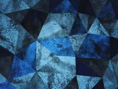EASTER GLASS BLUE