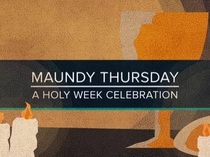 HOLY WEEK THURSDAY TITLE