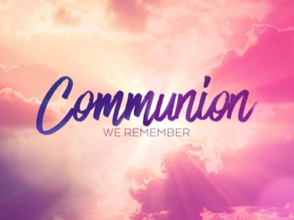 RESURRECTION WORDS COMMUNION