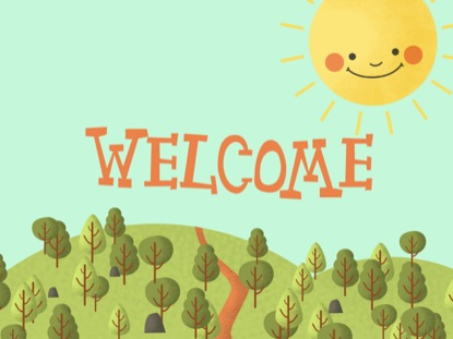 SUNSHINE KIDS WELCOME