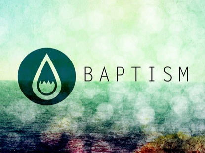 WATER DROPS BAPTISM