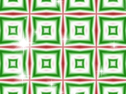 CHRISTMAS KALEIDASCOPE RED-GREEN 2