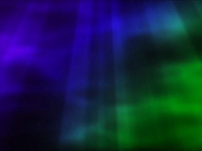 Enigma Purple Blue Green Abstract