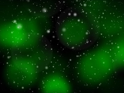 FESTIVE CHRISTMAS GREEN LOOP