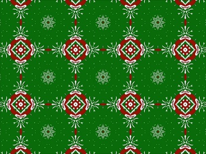 FRENETIC CHRISTMAS KALEIDOSCOPE LOOP