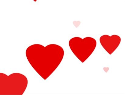 HEARTS POP UP LOOP