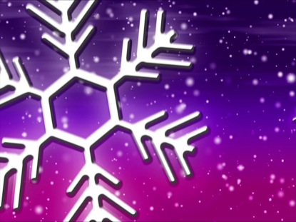LET IT SNOW PURPLE-PINK