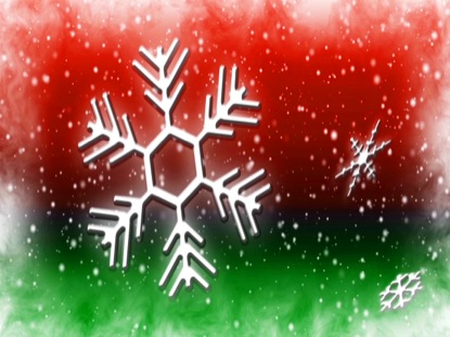 LET IT SNOW RED GREEN