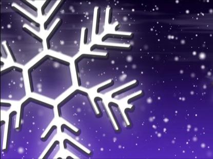 LET IT SNOW VIOLET