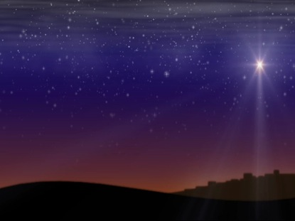 NATIVITYSCAPE BETHLEHEM STAR