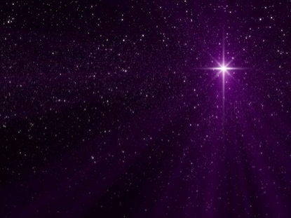 NATIVITY STAR MAGENTA