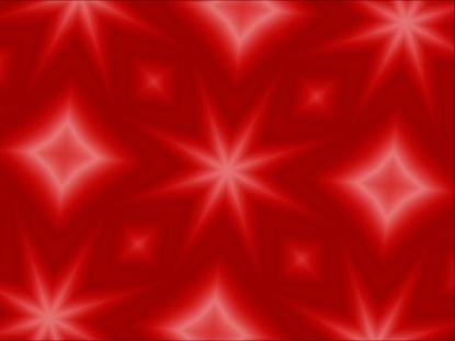 RED CHRISTMAS KALEIDOSCOPE