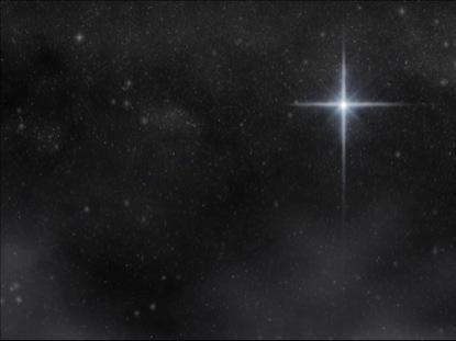 STAR OF WONDER - GALAXY STAR CLOUDS