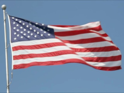 US FLAG FLYING HIGH