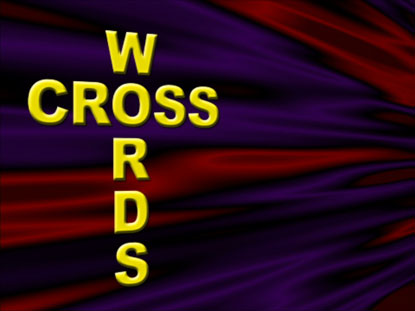 CROSSWORDS WITHOUT PUZZLE