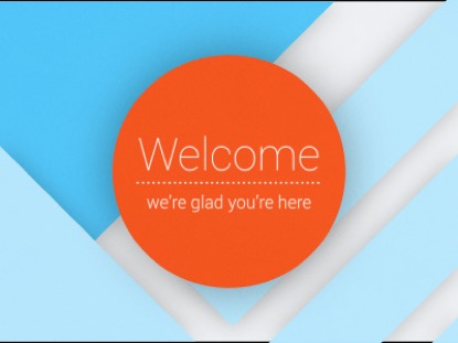 MATERIAL DESIGN WELCOME