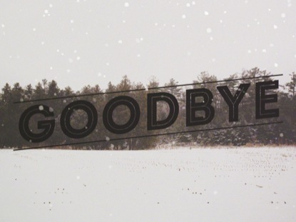 WINTER FOREST FRAME GOODBYE 2