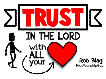 TRUST IN THE LORD (PROVERBS 3:5-6)