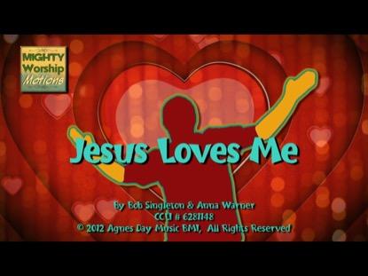 JESUS LOVES ME (WORSHIP MOTIONS)