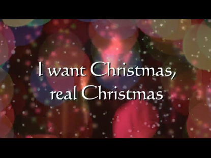 I WANT CHRISTMAS (DANCE)