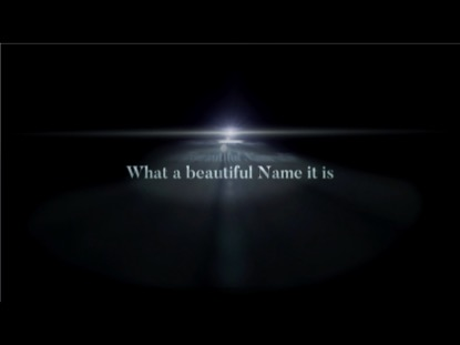 What A Beautiful Name (Gospel Version) Video Worship Song Track with