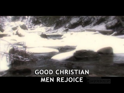 Good Christian Men Rejoice Video Worship Song Track With