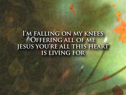 HUNGRY (FALLING ON MY KNEES): IWORSHIP FLEXX