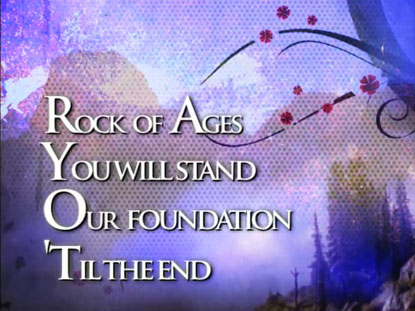 ROCK OF AGES YOU WILL STAND: iWORSHIP FLEXX