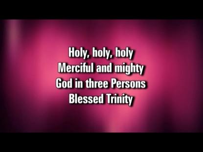 HOLY HOLY HOLY (SAVIOR AND KING)