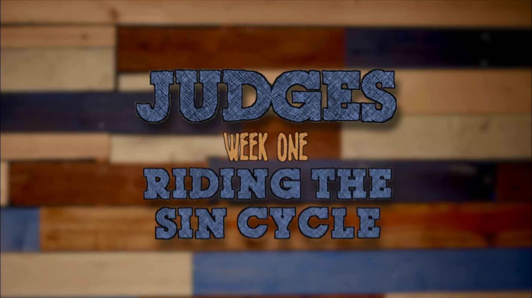 RIDING THE SIN CYCLE