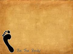 BE THE BODY STILL 1