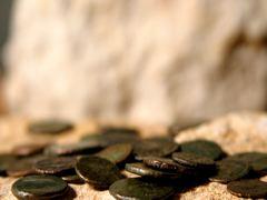 ROMAN COINS SPILLED 2