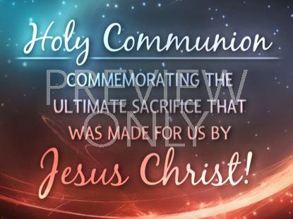 HOLY COMMUNION STILL 3