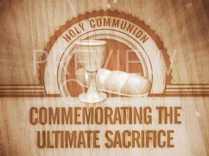 HOLY COMMUNION STILL 4