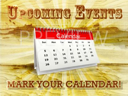 UPCOMING EVENTS STILL